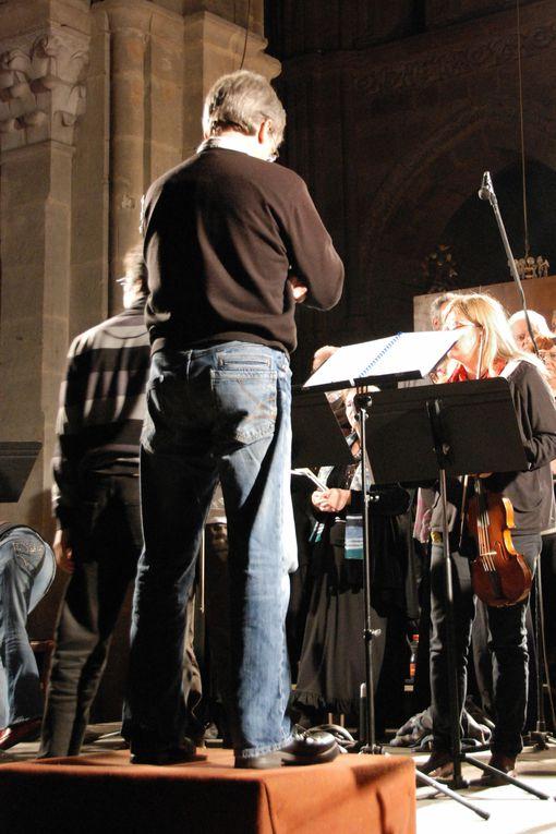 Images de la répétition générale à la cathédrale de Langres, 4 octobre 2013(Photos Bruno Aubin)