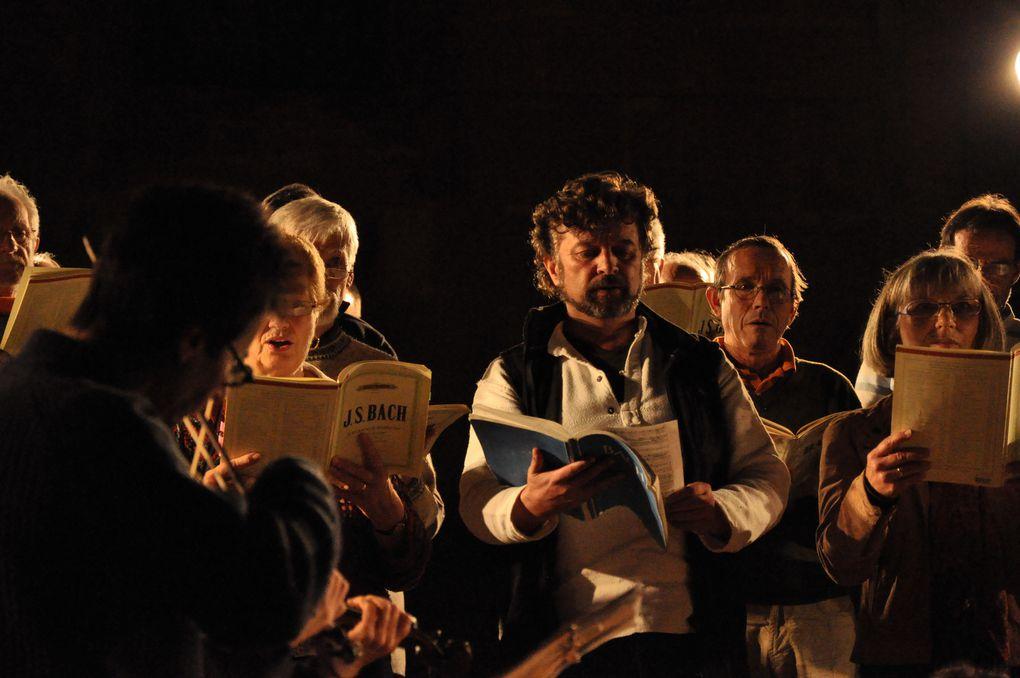 La Passion: ultimes répétitions et concerts à Chaumont, Langres, Montier en Der.Photos Gérard Féron, tous droits réservés