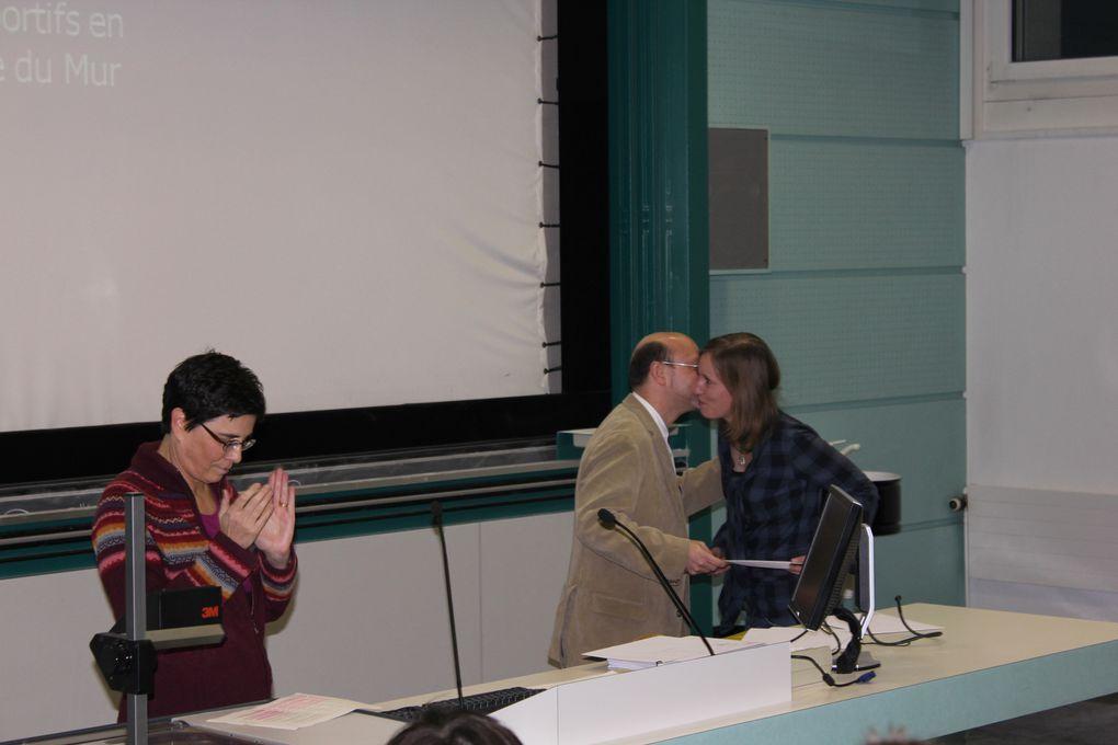 Photos de la cérémonie de remise des diplômes de Socioéconomie et Etudes genre, 25 novembre 2010
