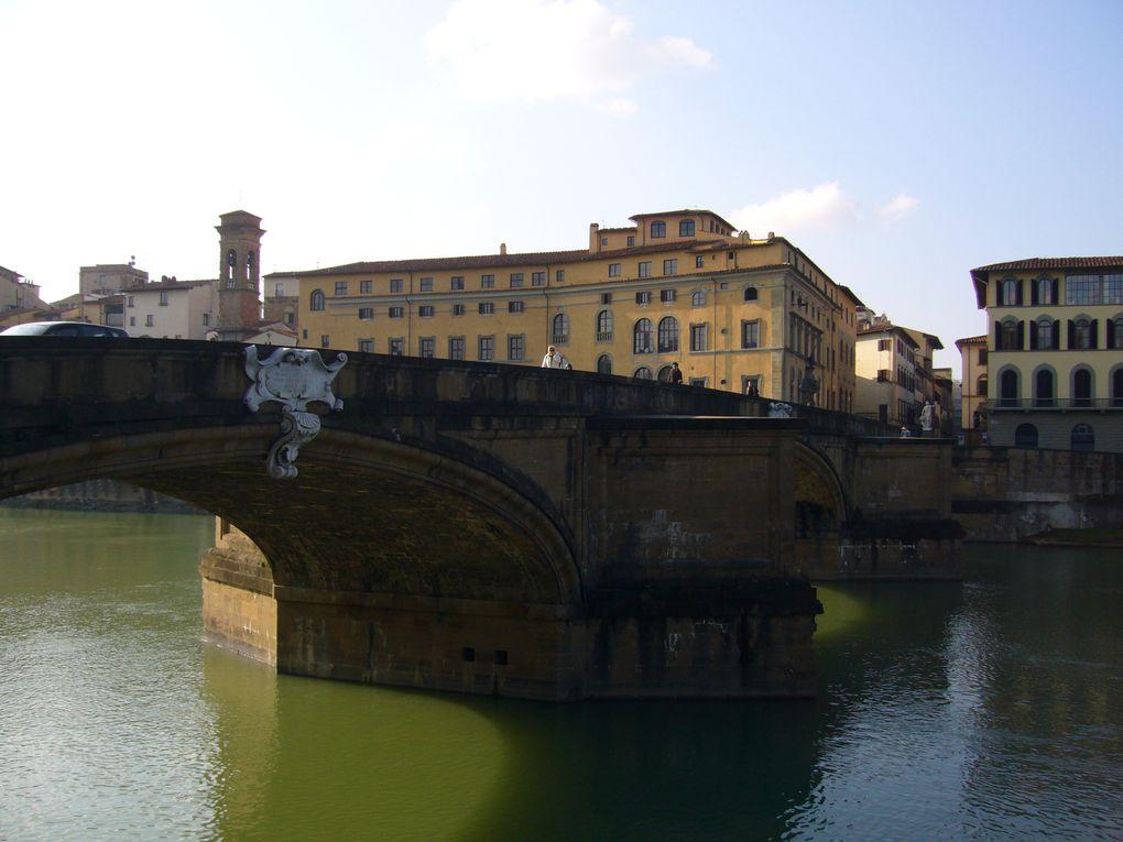 visite de la sublime Florence, et de quelques coins de Toscane, dont Sienne, Pise, San Lucca...