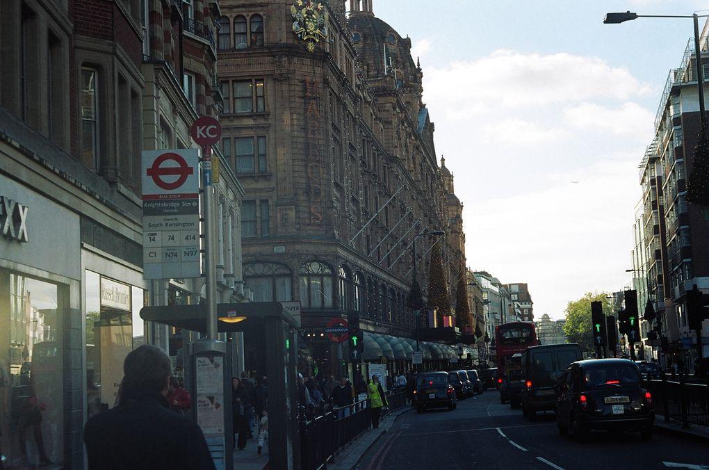 une promenade que j'ai faite à travers Londres, par une magnifique journée... un moment rare !!!!