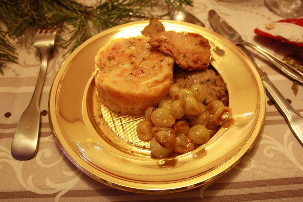 Voici quelques photos de menus, plats à l'occasion d'évènements festifs réalisés par Soluna et/ou ses proches