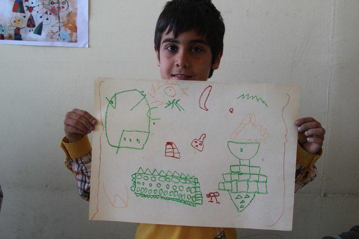 Cocuklar için Sanat, Barbaros'ta 18 Mart.... Miro üzerinde