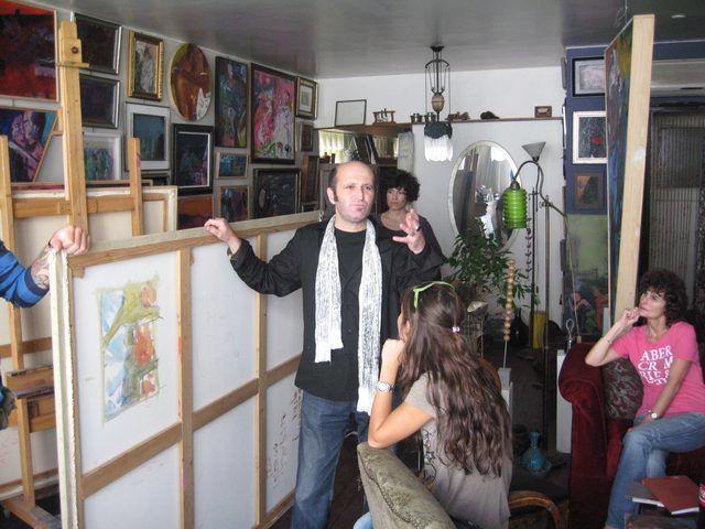 Sanatçı Atölyeleri Buluşmaları - Rencontres des ateliers d'artistes