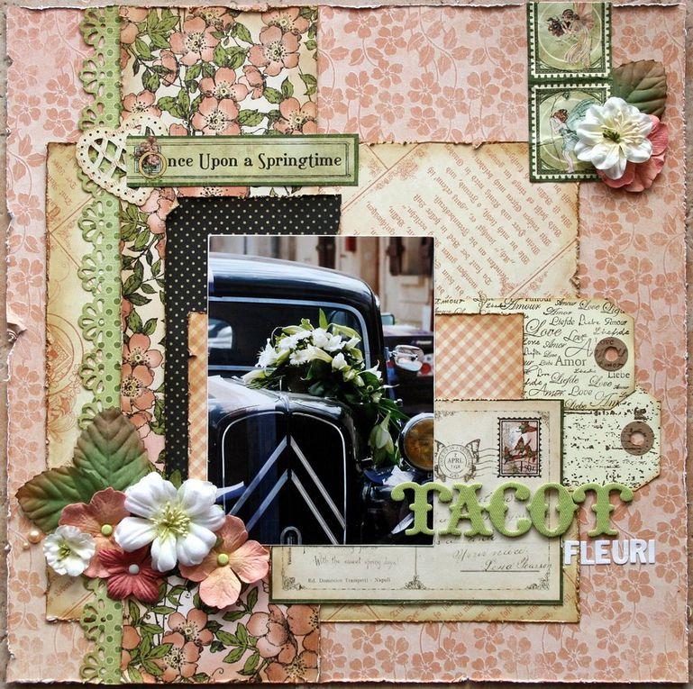 Pages, cartes et mini albums de Carol31