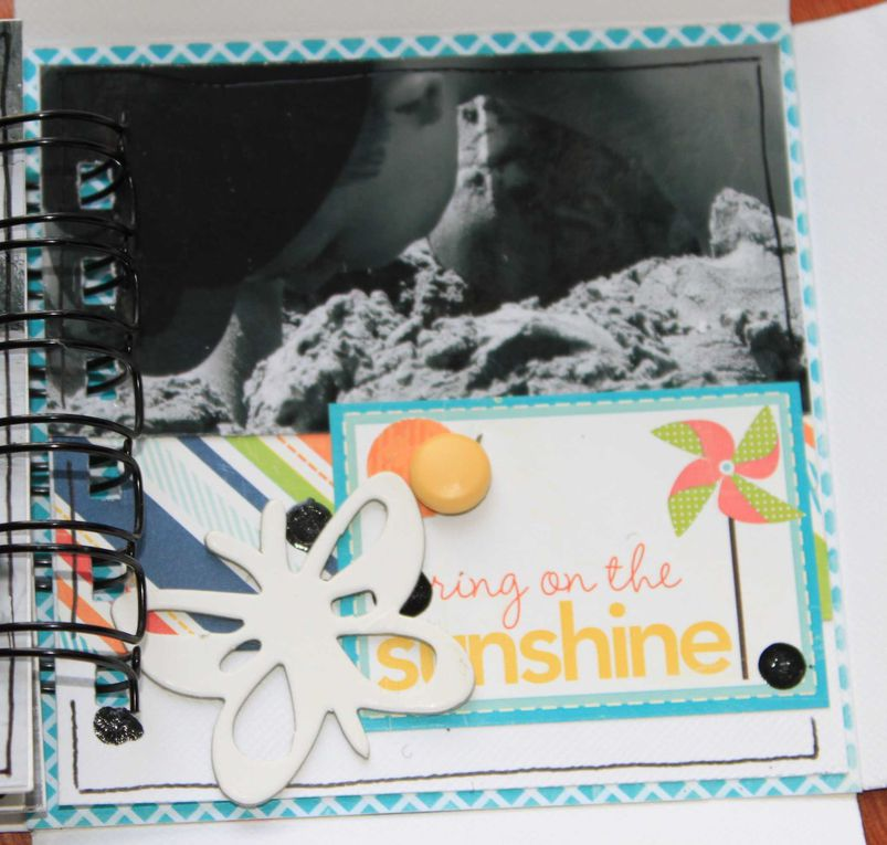 Pages et mini albums de Marie-Anne