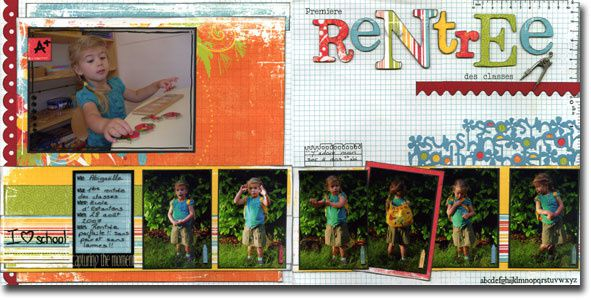 Pages, cartes et mini albums de Barbara