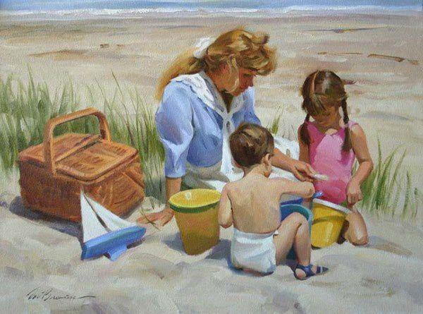 Vacances, la plage, la mer...