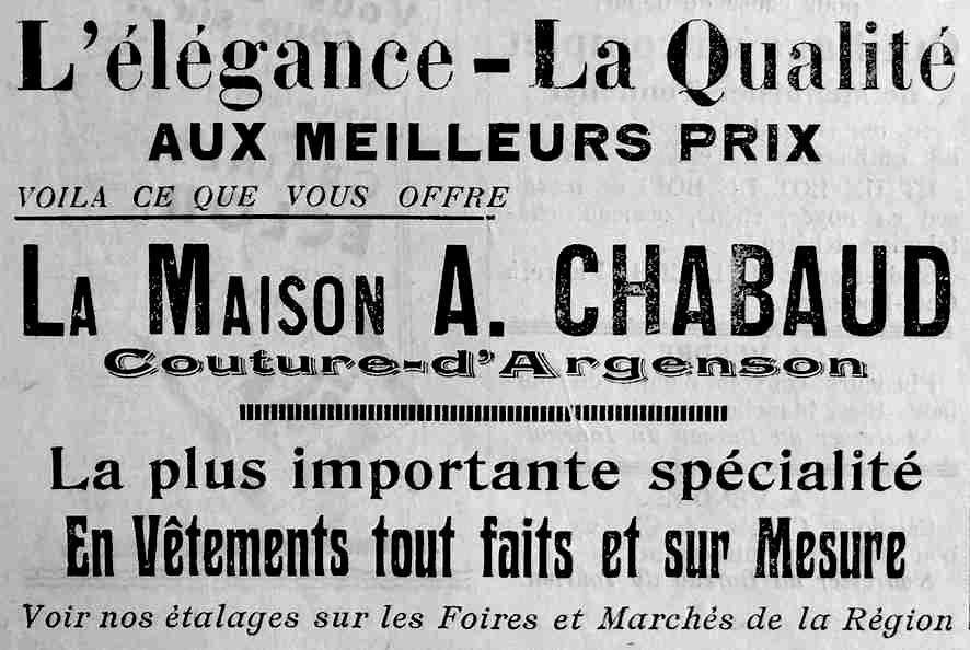 Album - La-PUB-locale-des-années-1880-à-1940