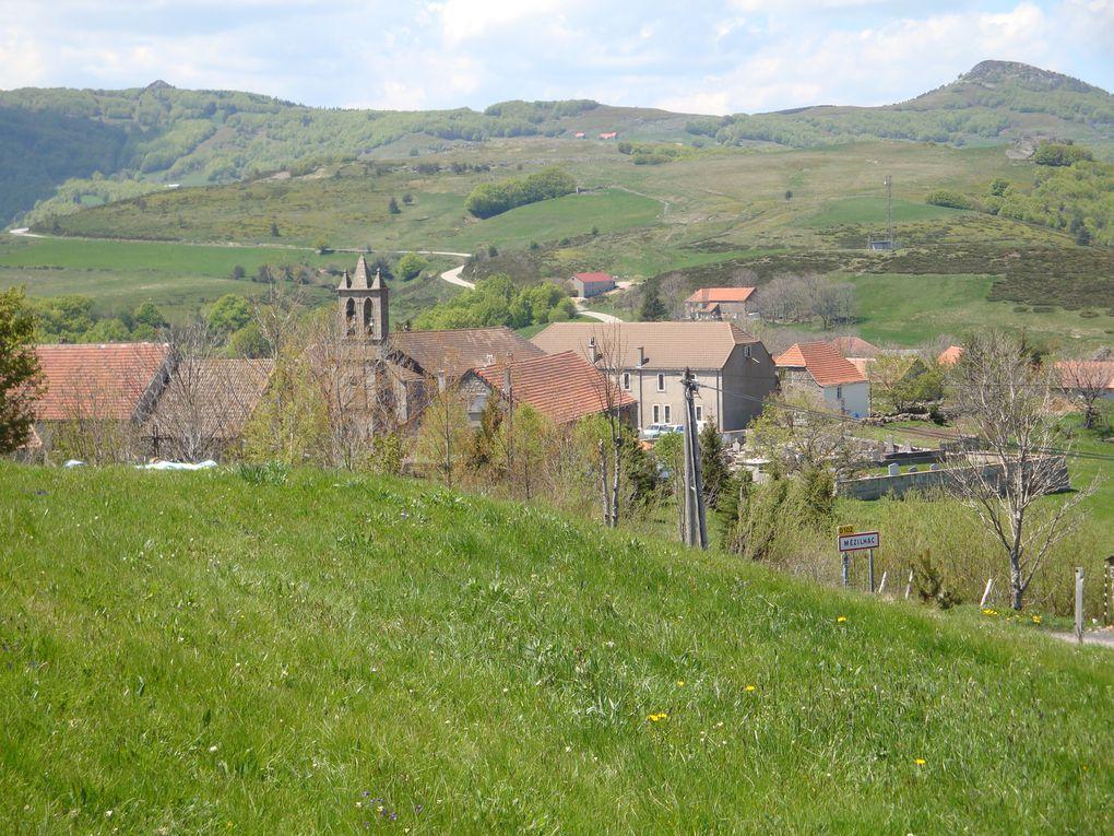 Sur les routes de l'Ardèche,  durant 3 joursNotre camp de base:LE MAS DE CHAMPELLES OLLIERES /EYRIEU