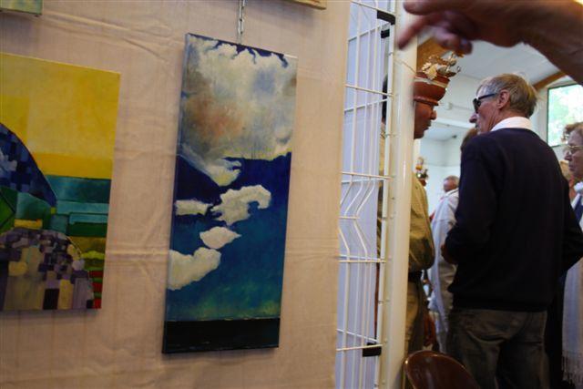 L'exposition des peintres amateurs des Portes en Ré 2011