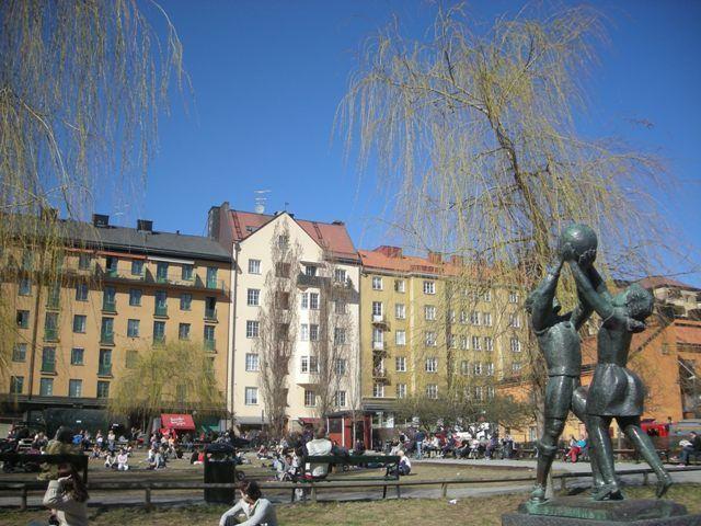 Vu et aimé à Stockholm - avril 2011