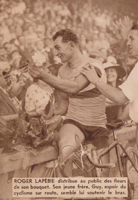 scans des journaux miroir des sports tour de france 1934