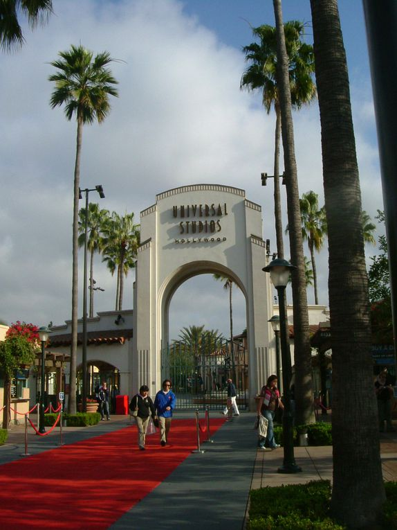 """Universal Studio"" is a theme park like ""Disney World"", but it's all about cinema. It's established in ""Universal City"", in Los Angeles, California."