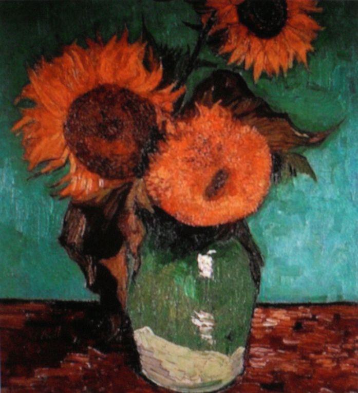 Tableaux de Van-Gogh dont certains furent peints lors son internement à St Paul de Mausole à St Rémy de provence. Un article évoquant la vie du peintre est publié dans ce blog