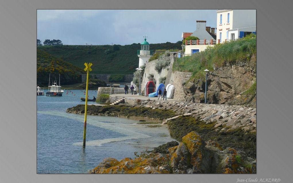 Photos de Belle Ile en Mer à l'occasion  du Voyage à vélo d'Hendaye à Brest ( Mai 2009)