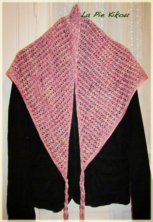 Tous les ouvrages à la machine à coudre, au tricot, au crochet.Vêtements, sacs et autres