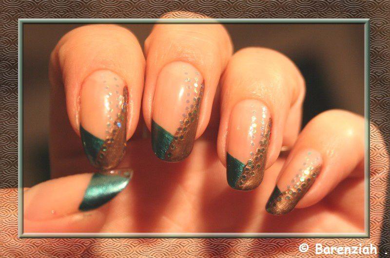Différents nail art