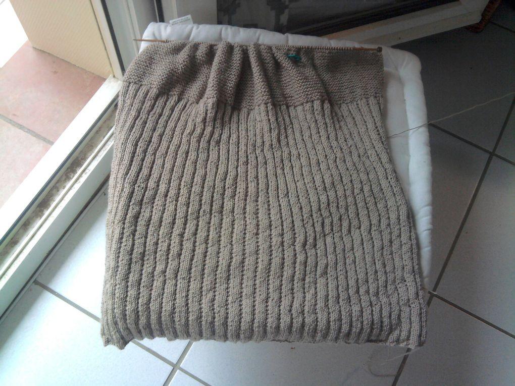mes ouvrages tricotés