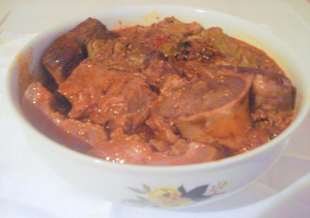 spécialités plats poulet poisson légumes MCS