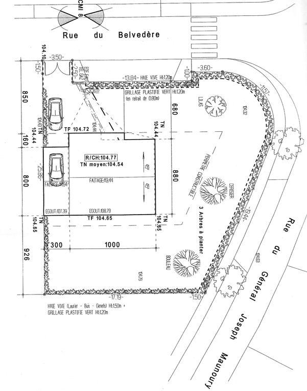 Les étapes de la construction de notre maison à Meaux.