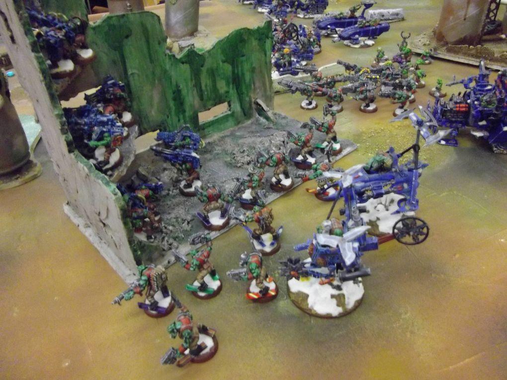 Tournoi Warhammer 40K du 19/20 février + tournoi YugiHo du 19 février.