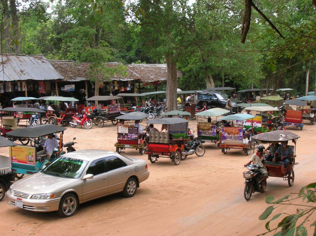 Quelques unes des photos d'Angkor avec un peu de retard !