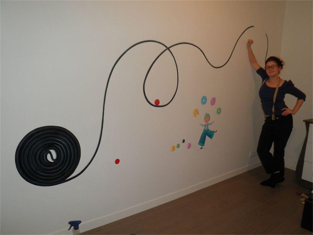 Album - dessin-mural