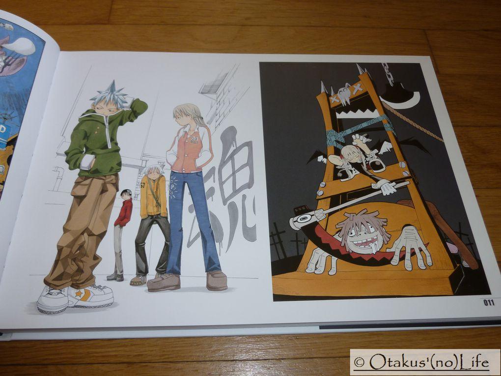 Album - Soul Eater Soul Art - Artbook-Kurokawa