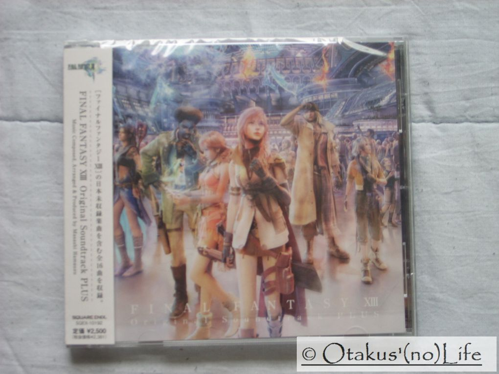 Album - Deballage-OST-PLUS-Final-Fantasy-XIII