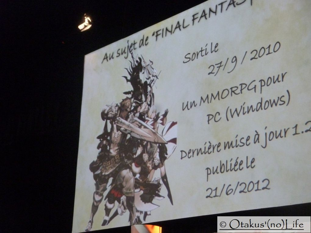Photos des conférences 10 ans de Kingdom Hearts, le futur de Final Fantasy XIV et Angi's Philosophy Final Fantasy !