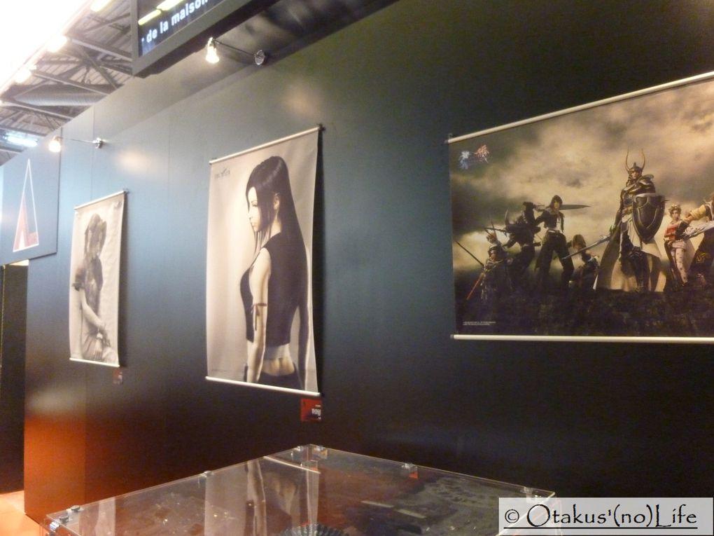 Le stand de Square Enix à Japan Expo 13 ème Impact !