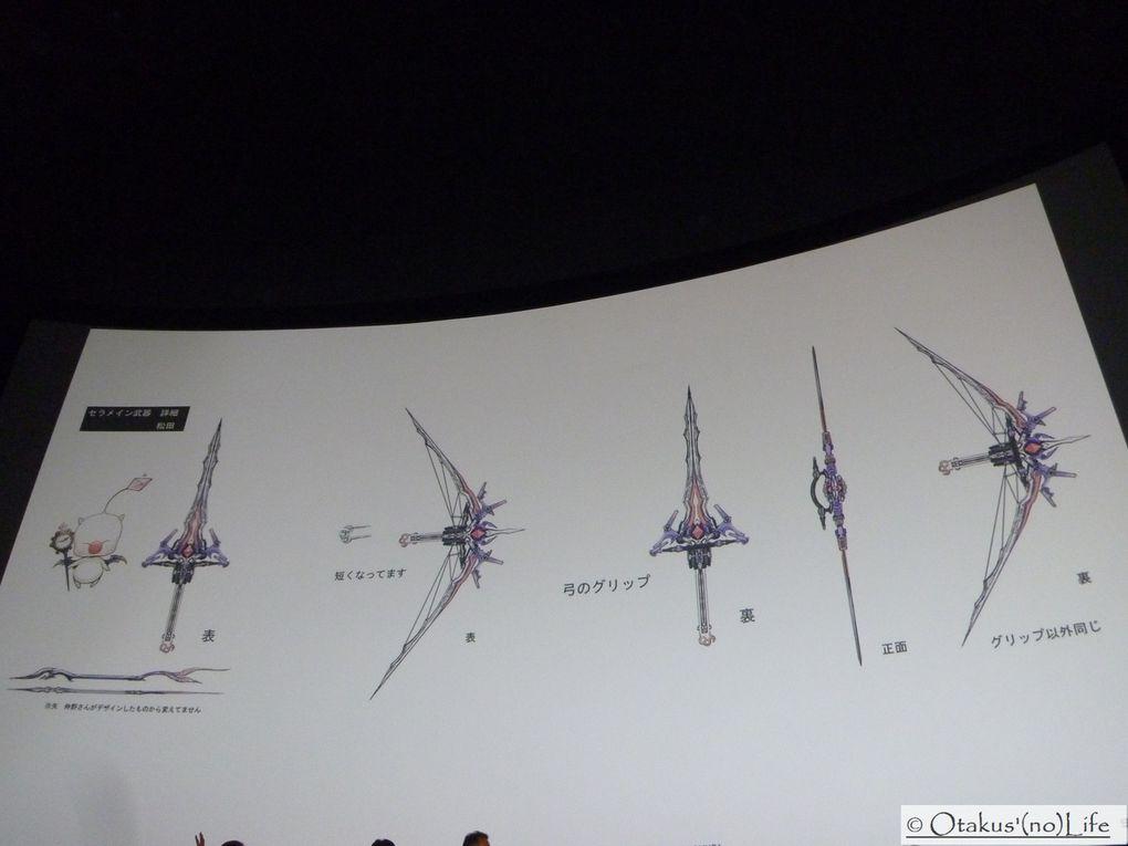 Photos de la présentation de Final Fantasy XIII-2 du Samedi 12 Novembre au-Max Linder en présence du producteur Kitase san !