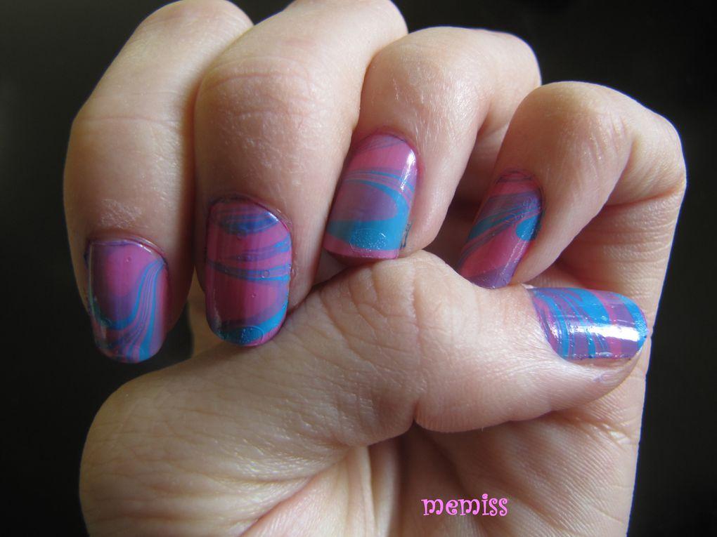 Les ongles que j'ai décorés, depuis mes débuts...