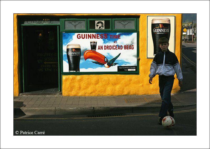 Des couleurs / colors - Des irlandais / Irish people