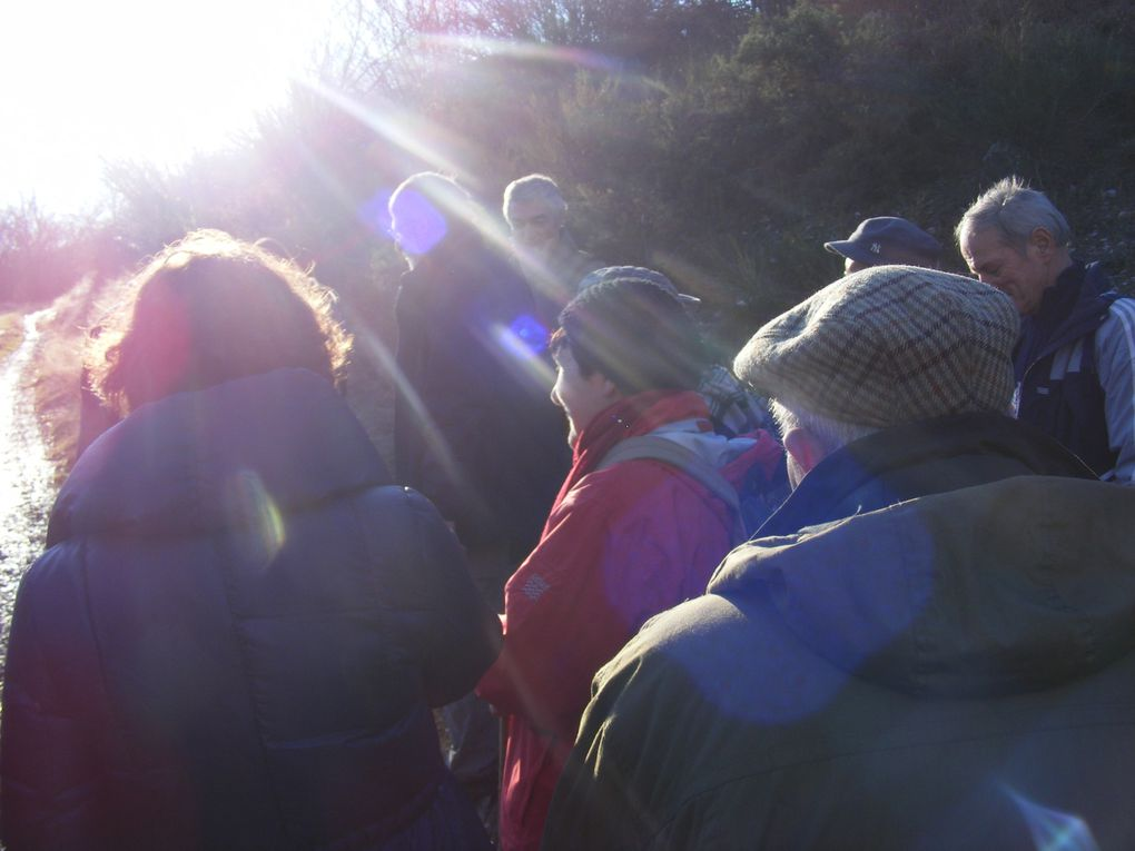 Randonnée du 14 janvier 2012 au Mont Gos.
