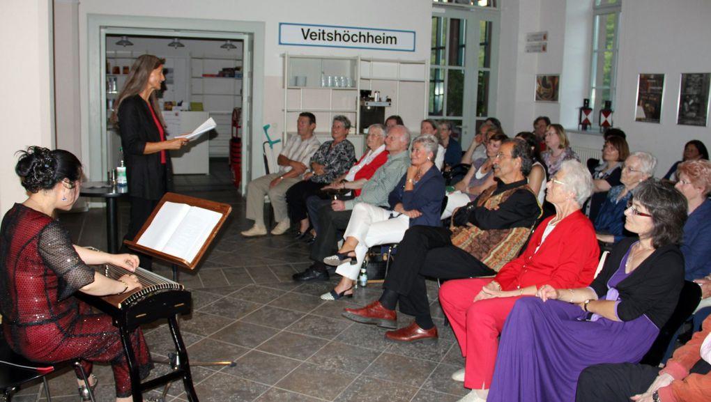 Lesung mit Musik in der Bücherei im Bahnhof Veitshöchheim
