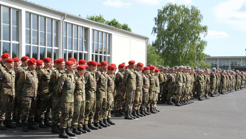 am 11.6.2014 in der Balthasar-Neumann-Kaserne Veitshöchheim