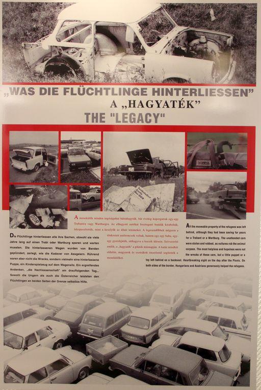 """""""Durchbruch"""" ist die Ausstellung tituliert, die noch bis 25. Februar im Veitshöchheimer aufzeigt, wie es kam, dass die scheinbar unüberwindliche Grenze zwischen Ost und West am 19. August 1989 im ungarischen Sopron ein Loch bekam."""