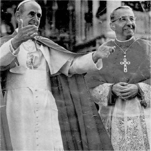 Photos pape et sosie