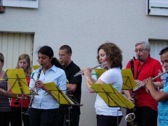 Fête de la musique dans le quartier de Chantenay le 21 juin 2008.