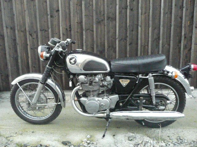 Restauration Honda 450 Dohc 1971