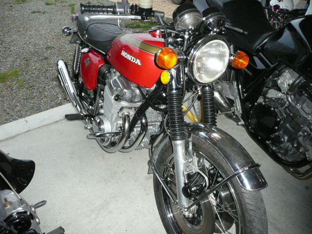 Restauration Honda 750 K2