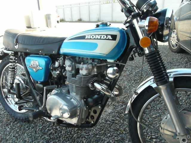 Album - Honda-Cl-450 de 1974