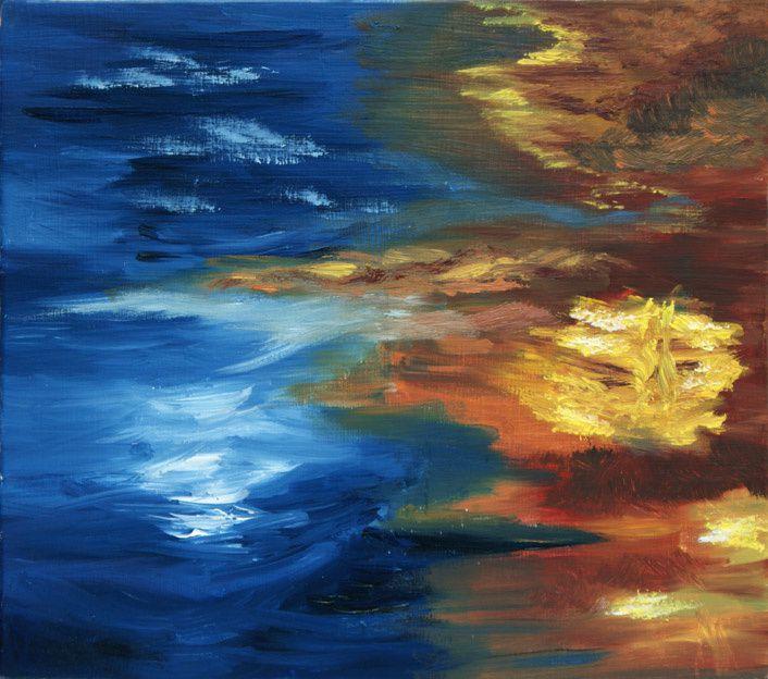Peintures à l'huile et aquarelles