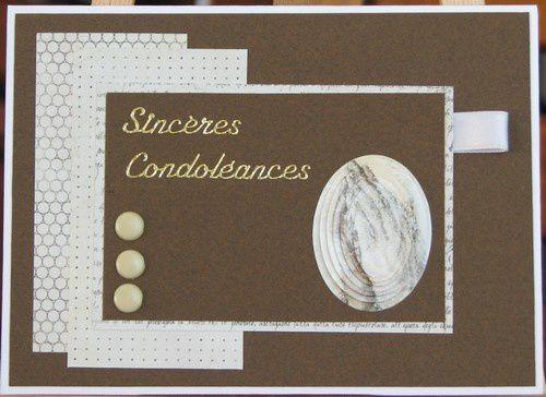 Album - Condoleances