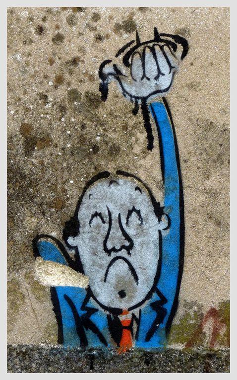 mêler le peintures de rue d'horizon divers