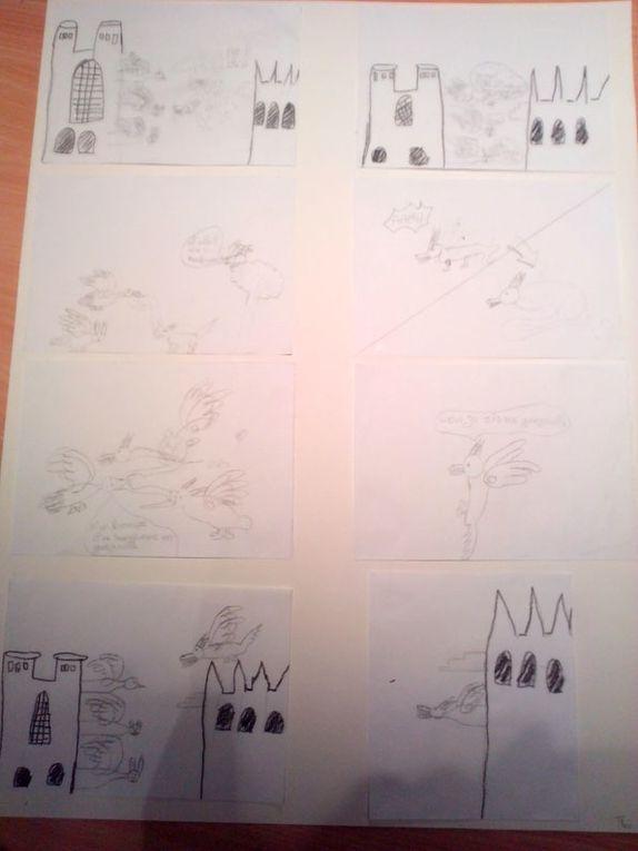 BD réalisées par les élèves des écoles primaires des Feuillants, l'Abessaille et Léon Berland