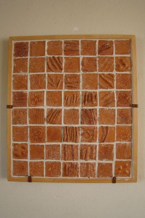 Panneaux bas relief sur la forêtet les bois