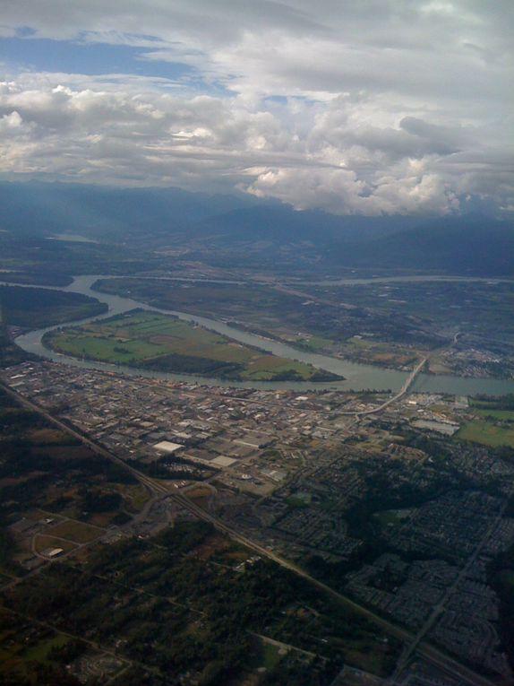 Mercredi 8 septembre 2010 :départ Montréal, arrivée Vancouver.